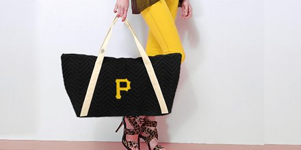 RE-TWEET this tweet in the next 24 hours for a chance to win this trendy Pirates tote from @littleearthprod https://t.co/XR8OWQQm9D