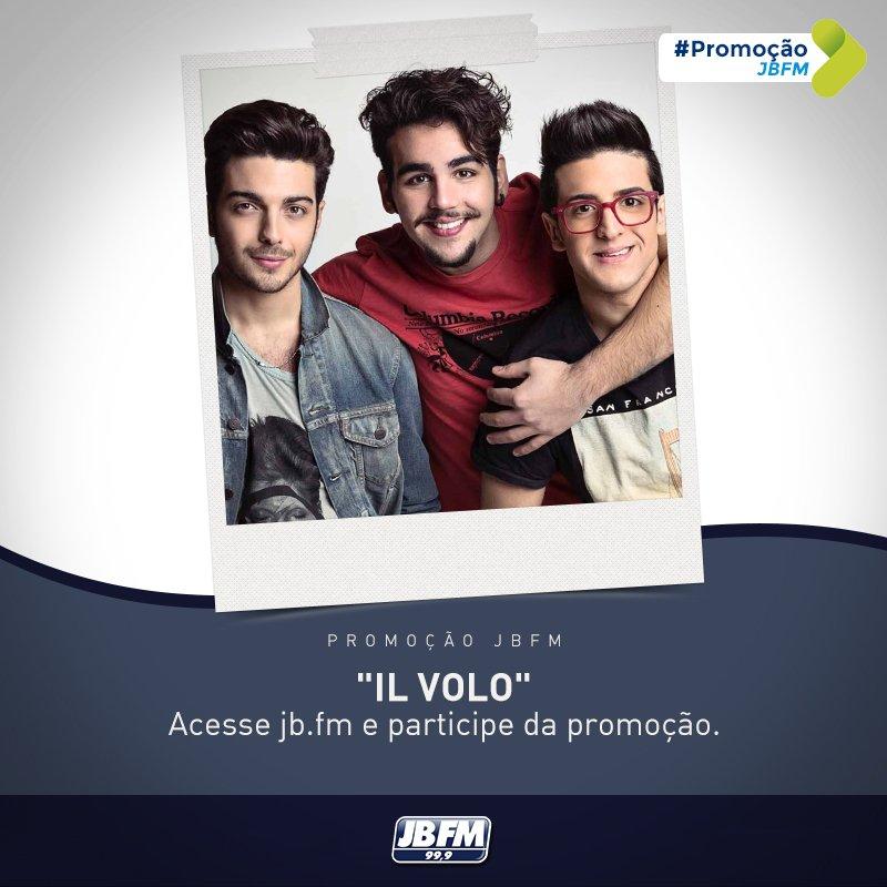 """IL Volo, retorna ao Brasil para apresentar o show da nova turnê, """"Grande Amore"""", no dia 03 de maio, no Vivo Rio. https://t.co/hWwfdTsoap"""