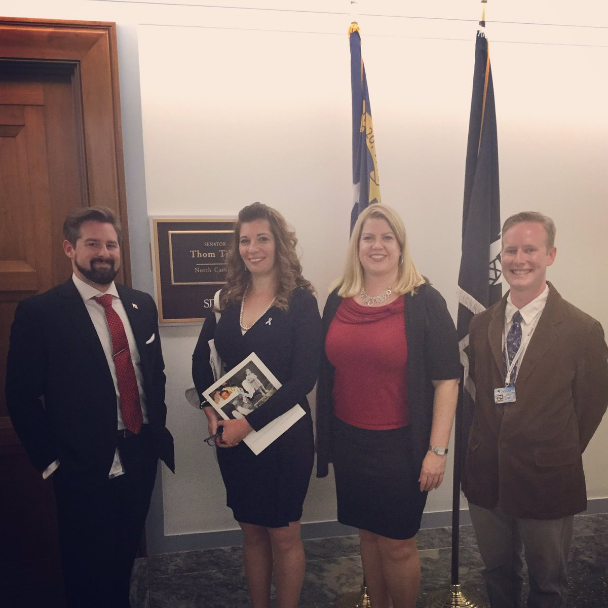 Had a great time talking with @MatthewJFlynn in @SenThomTillis' office raising #CDHAwareness https://t.co/BFhBjhGcCN