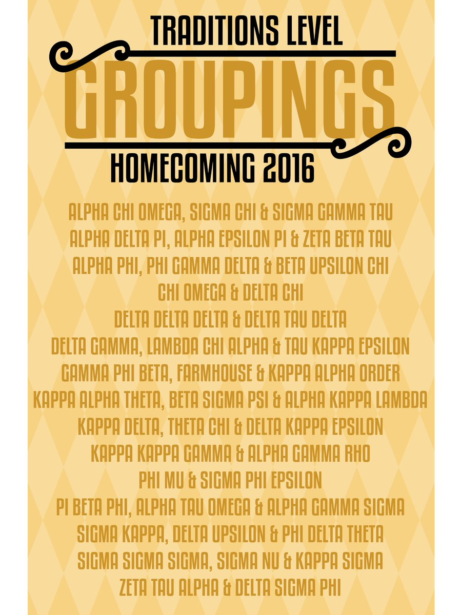 Presenting your 2016 homecoming groupings! #MIZ105HC https://t.co/QUnSu87ukq