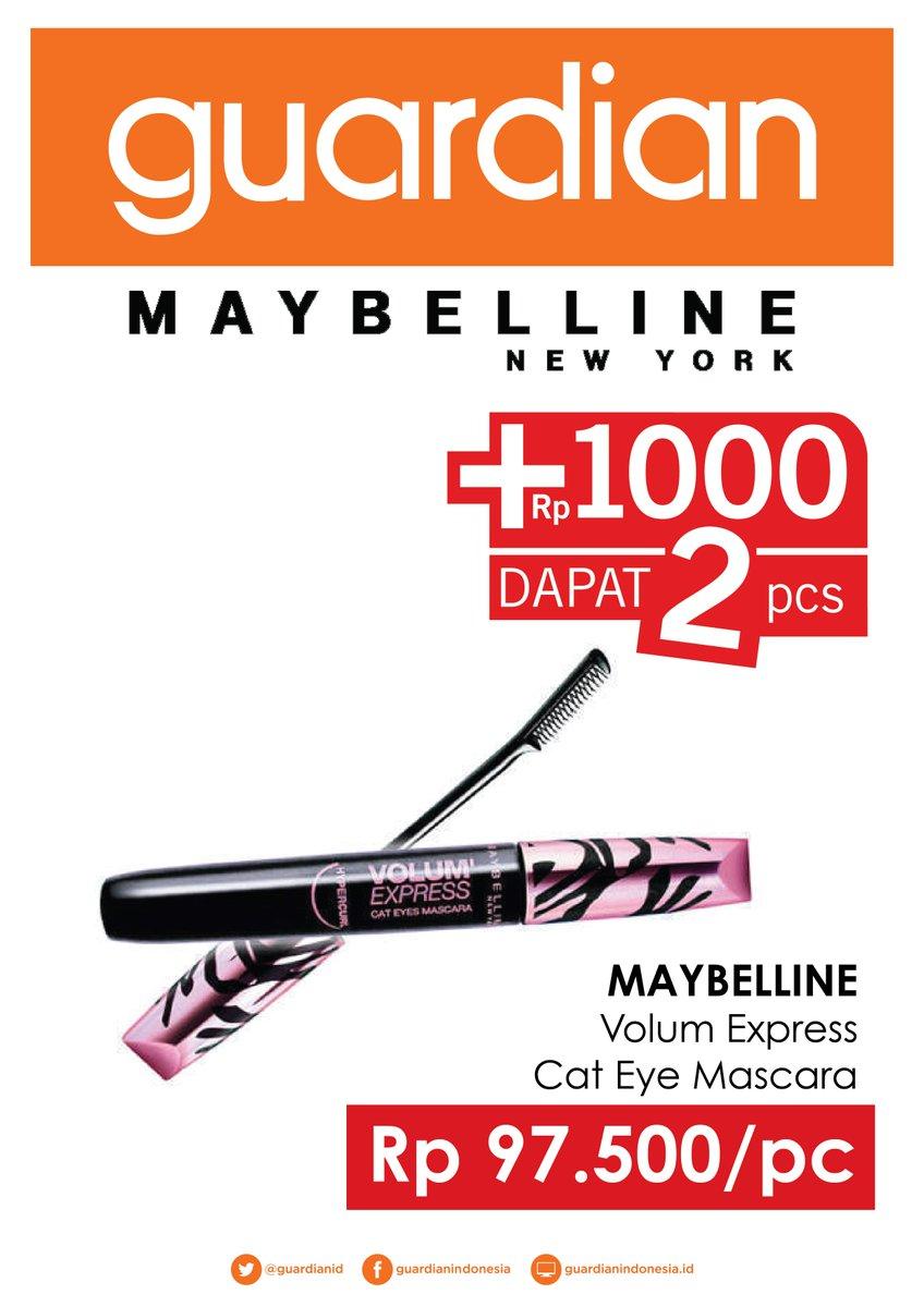 Ralat Promo Tambah1000 Maybelline Hyper Matte Black Liner Ink Eye Digantikan Oleh Volum Express Cat Eyes
