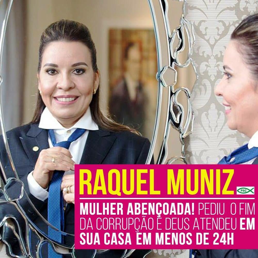 @PastorMalafaia existe palavra mais profética que da Dep Raquel Muniz? https://t.co/n4dueEZbJd