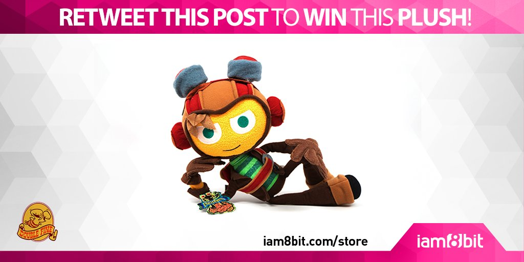 RETWEET THIS POST 4 a chance to #win this Raz #Plush! Winner picked tomorrow @ 5PM PDT! @DoubleFine @TimOfLegend https://t.co/dGqujNM2TH