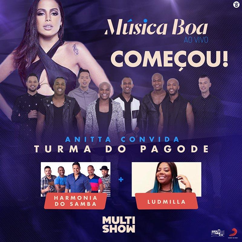 Todos ligadinhos no #MúsicaBoaAoVivo?  Já começooooouuu!!! #TDPnoMúsicaBoa https://t.co/hphpKOtMqX