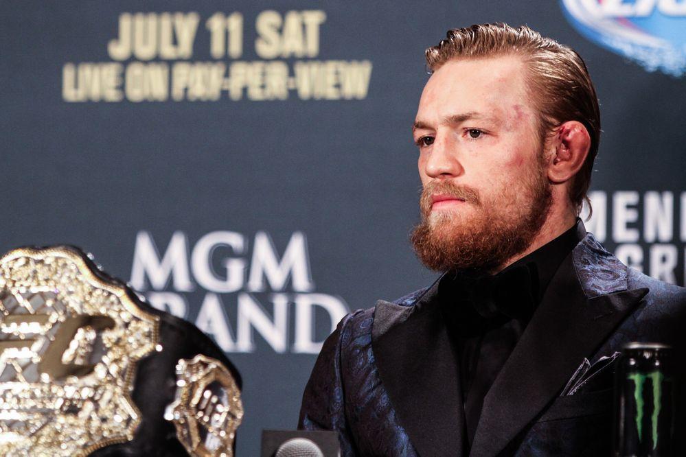 【UFC200】コナー・マクレガーが引退発表、UFCも7月9日ラスベガス大会欠場を公表!! https://t.co/YMnkffDXnf https://t.co/hErl7YtzbK
