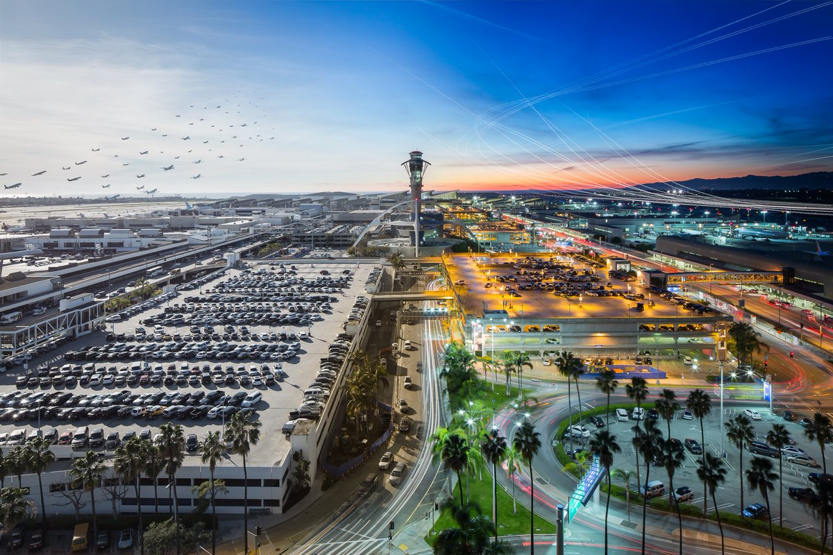 [PIC] LAX only U.S. airport voted one of world's Top 10 Scenic Airports 2016!   @PrivateFly