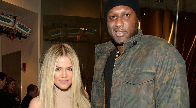 Khloe Kardashian makes her Snapchat debut with the help of Lamar Odom: