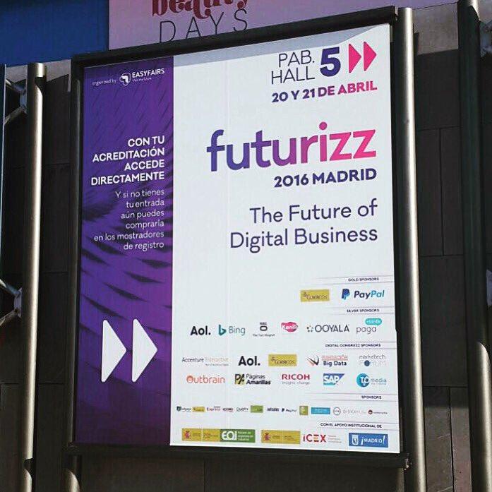 ¡Se abren las puertas de #futurizz! ¡Bienvenidos a la #TransformaciónDigital! https://t.co/SSdSw8PF9B