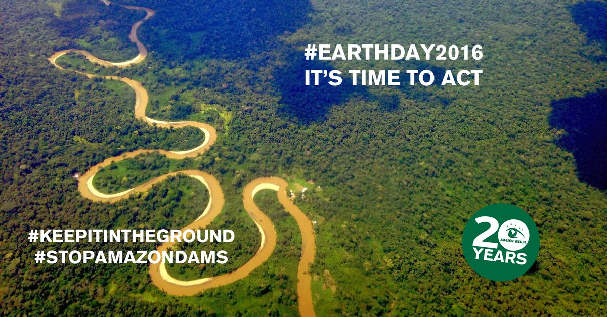RT @AmazonWatch: Here's a way to celebrate #EarthDay on Fri: support EnviroDefenders on @ThunderclapIt https://t.co/Vl6DfD4XXF https://t.co…
