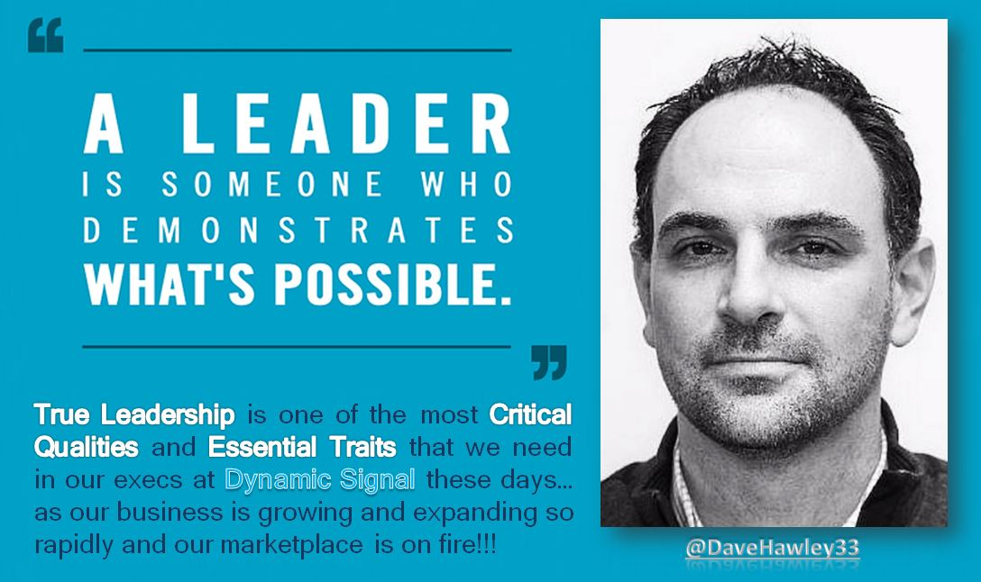 SO EXCITED to have @DaveHawley33 join @Dynamic_Signal exec team - A perfect addition at an amazing time!!! https://t.co/fggl2Lj2KO