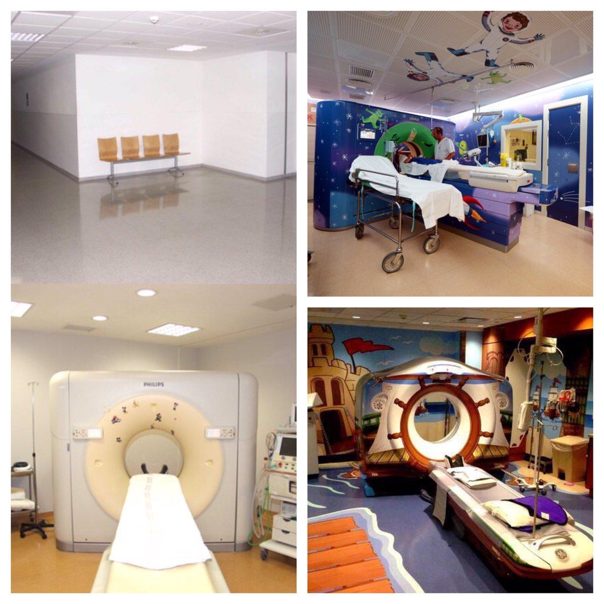 Buscamos empresas que nos ayuden a convertir la sala TAC de @HospitalLaFe en algo mágico ¿Nos ayudáis a difundir? https://t.co/FZvoKNaakY