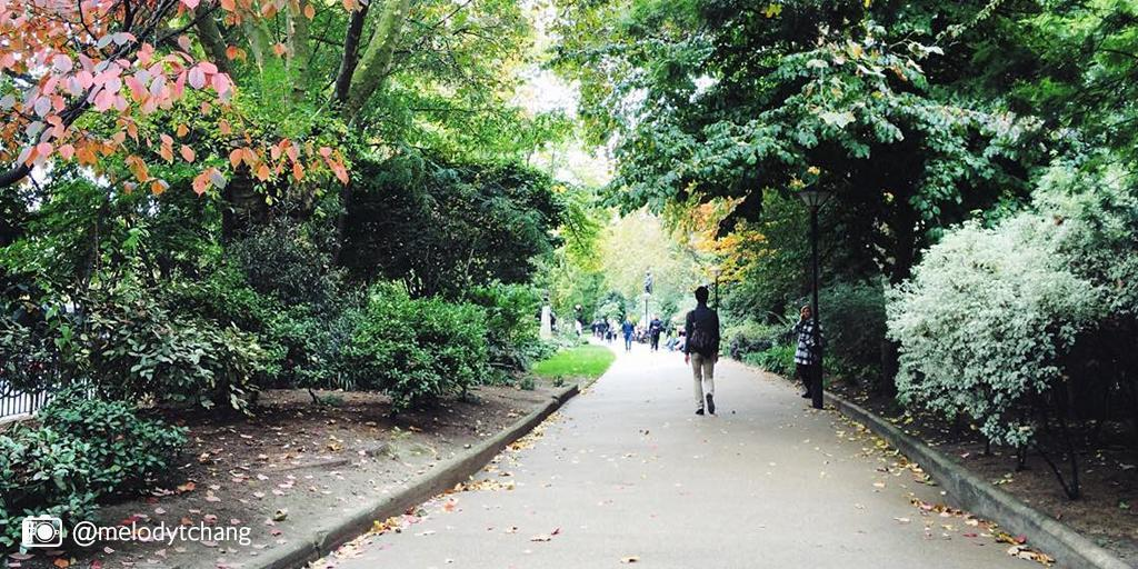 Embankment Gardens have been a quiet haven in London since the 1860s. Explore the capital