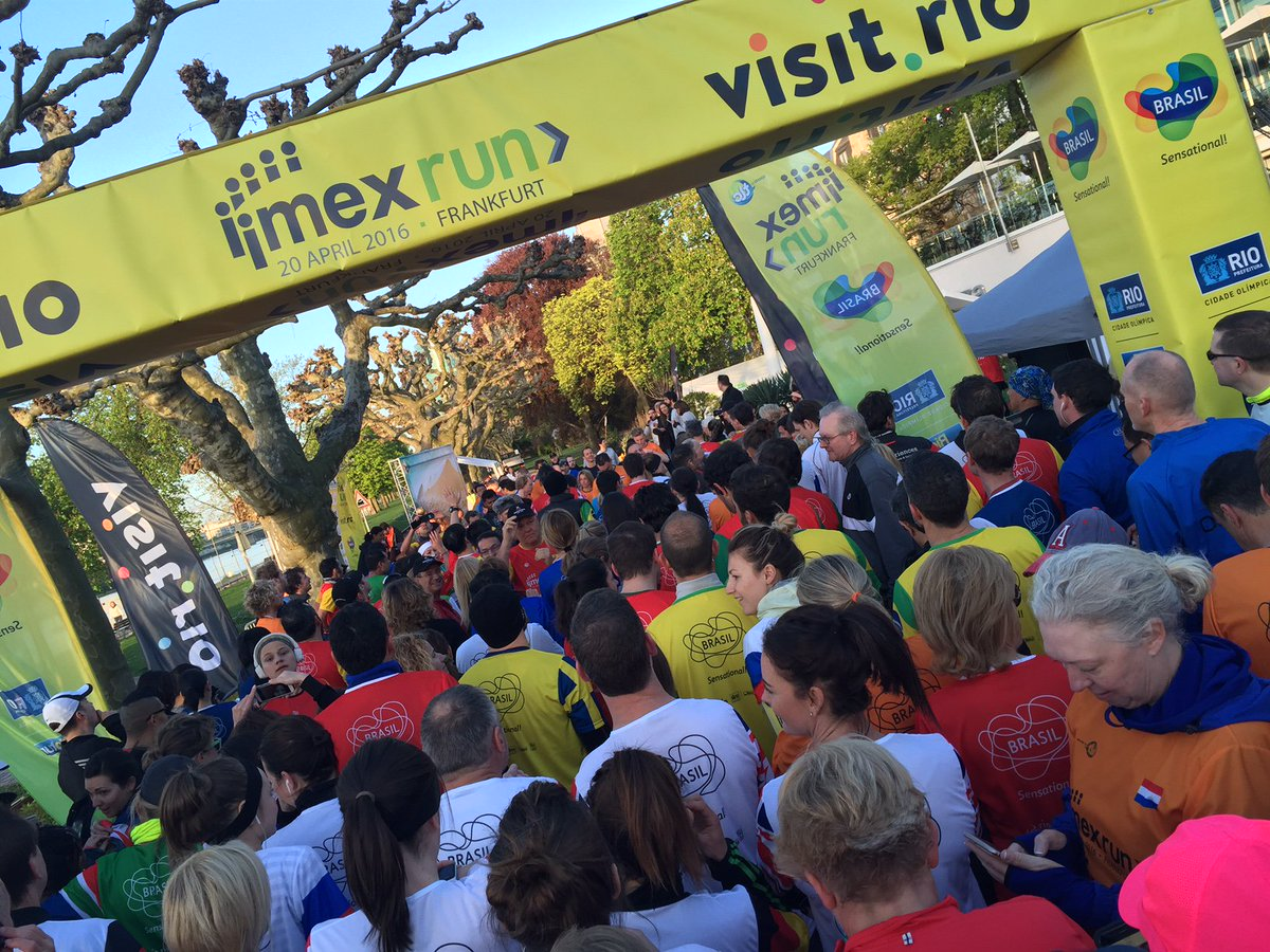 Thank you @sportsbytlc @IMEX_Group for an amazing #IMEXrun at #IMEX16 - awesome start to the day with @cvent on D630 https://t.co/cYIdfn3Qc3
