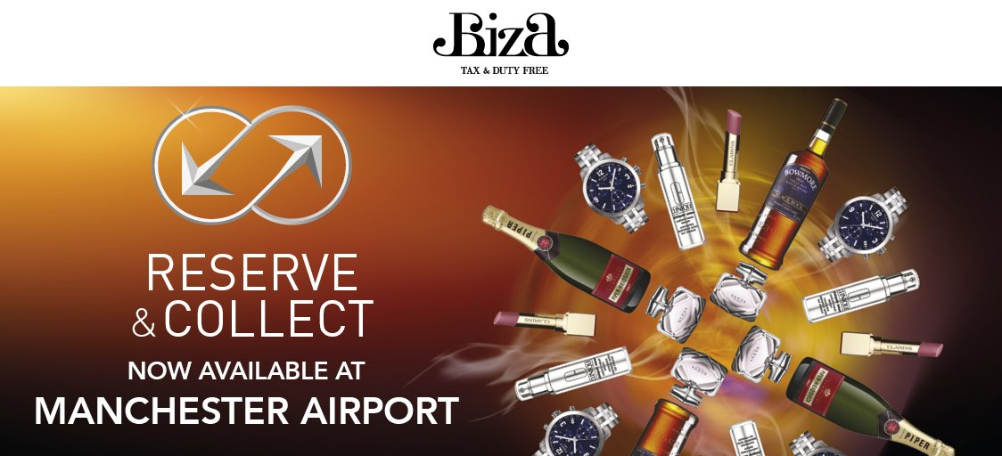 You can now reserve your @WorldDutyFree shopping & collect on departure! ✈ Reserve now: