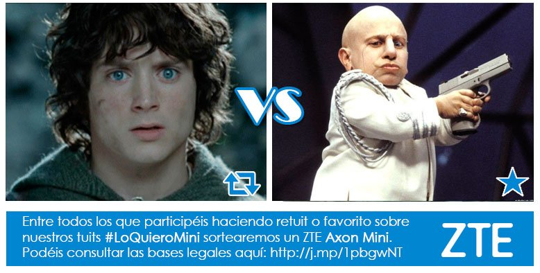 Concurso #LoQuieroMini En el cine hay heroes 'mini' en los dos bandos ¿Con cuál te quedas?  RT Frodo Fav Mini Yo https://t.co/CByMRWLMrp