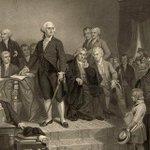 1st US @POTUS inaugurated #OTD 1789. Geo Washington called for unity & nonpartisanship https://t.co/kfpq9AFG80 https://t.co/UqsbjSFGpz