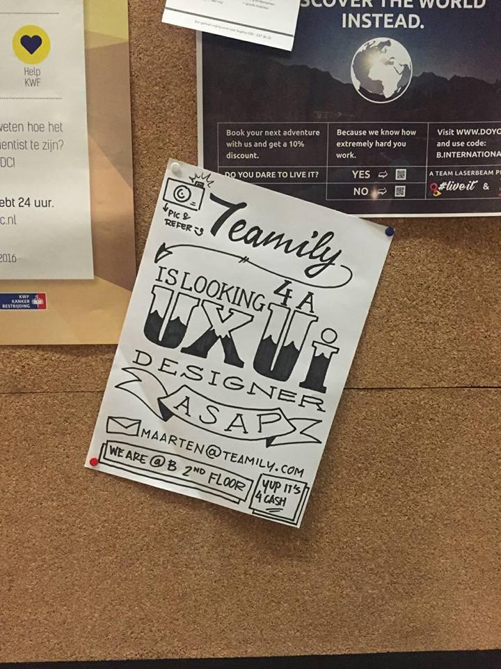 Old skool poster for kick *^%(%-ss design job. #job #design #hrtechnl #startup #audacious  https://t.co/OjLgsQNKvI https://t.co/KU1D1Ys5ka