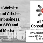 #BNIMerseyside @AllPointConsult Content/Article package for business website https://t.co/Zg96jyzrTJ #simplywirral #TwirraLshare