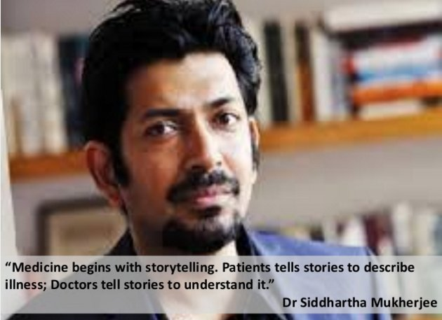 Medicine begins with storytelling. Patients tells stories to describe illness; Doctors tell stories to understand it https://t.co/gBHj5dPVA2