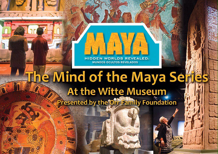 Discover the #Maya on 4/27 for start of series w/ world-renowned scholars from @UTSA RSVP https://t.co/xNz7RSvR5Z https://t.co/uPaxhjmBD9