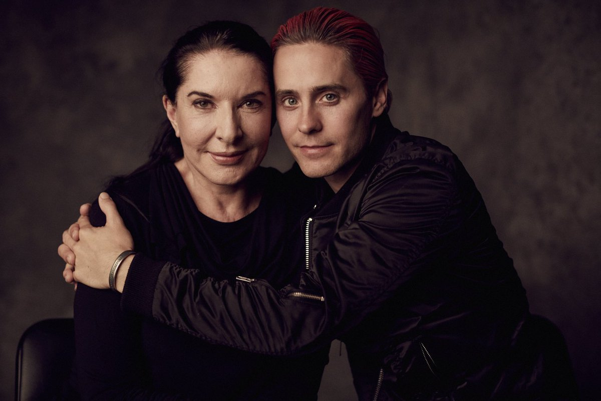 RT @aoloriginals: #WednesdayWisdom w @JaredLeto​ + #MarinaAbramovic​. Open your eyes & look #BeyondTheHorizon: https://t.co/vYXKUQH6Xr http…