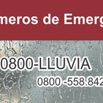 Números de Emergencia #Venezuela Movilnet *1 / Movistar *911 / Digitel *112 0800-lluvia: 0800-558.842 Bomberos: 171 https://t.co/sVYd3rIFJW