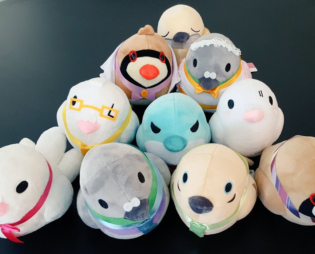 New @Hatoful @kickstarter plush project going up this week! @moa810 https://t.co/Tu3dg4prNV