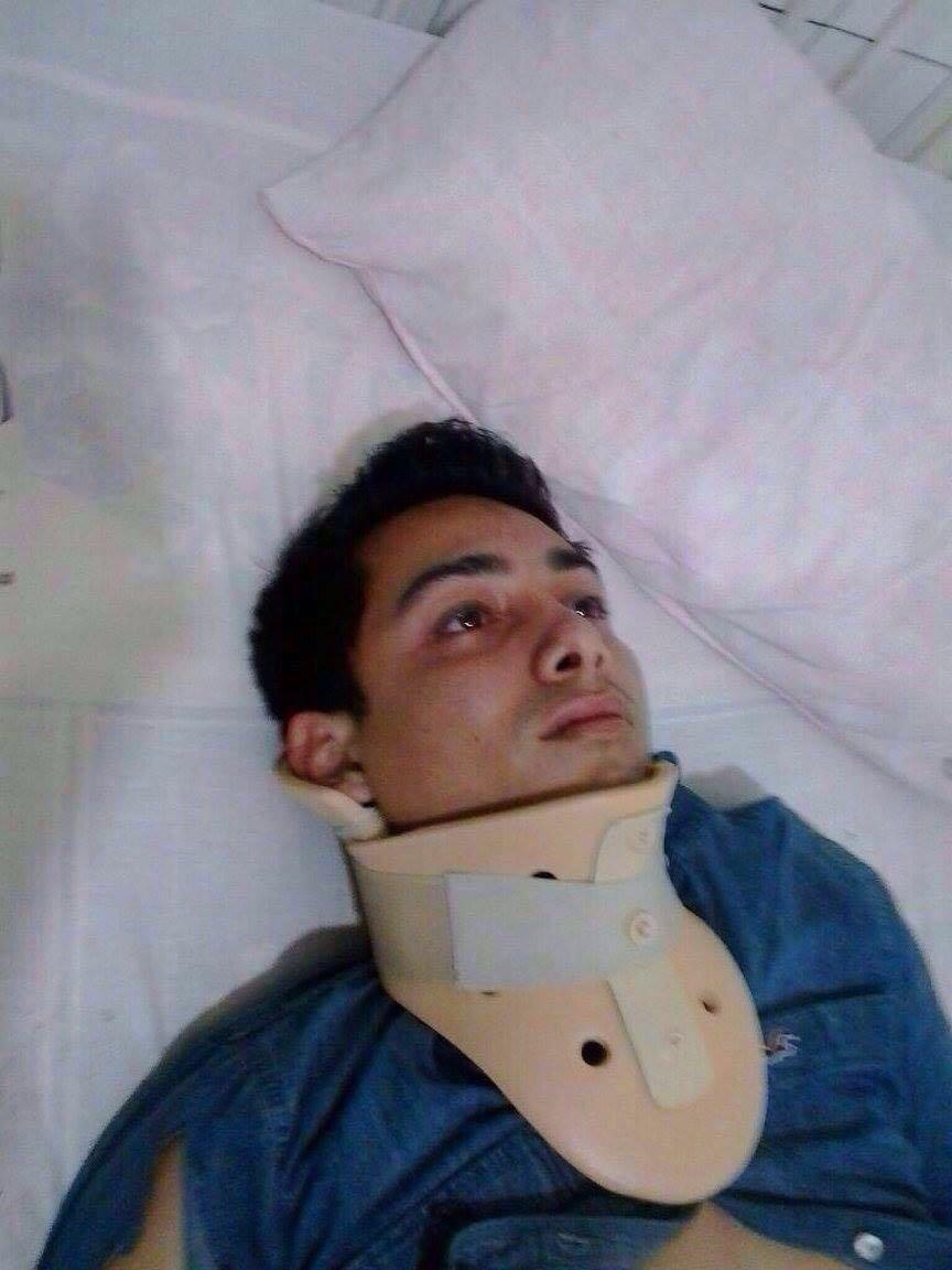 este joven venezolano estuvo en la tragedia de Ecuador no tiene memoria y no posee documentos por favor RT https://t.co/tI7ak7r8Ez