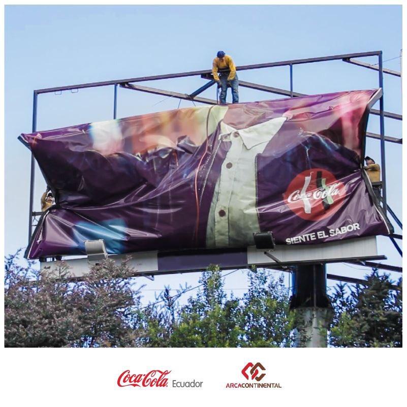 Coca Cola baja sus lonas publicitarias y con eso crea 200 refugios a damnificados. https://t.co/6jx2RzwhZw