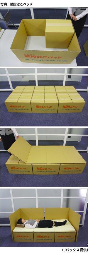 【注目】避難所の段ボール製簡易ベッド,実はこういう仕組みだった! #段ボールベッド #ダンボールベッド https://t.co/eFoXnq0fTs https://t.co/HQflnq7s3B
