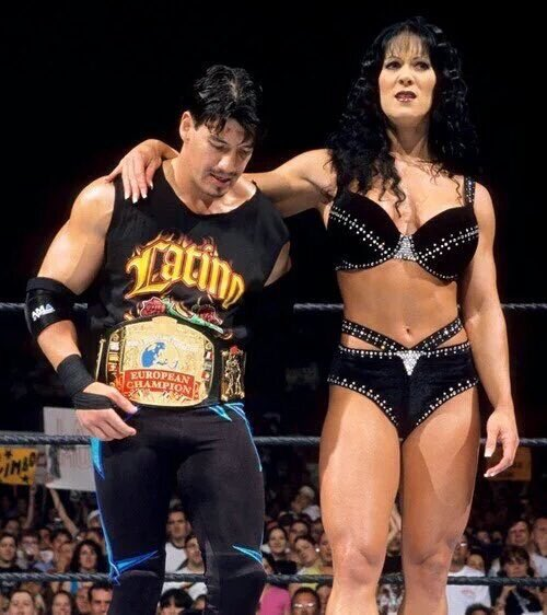 Some of my favorite memories of Chyna.. Her and Eddie were awesome together.   Now angels together.