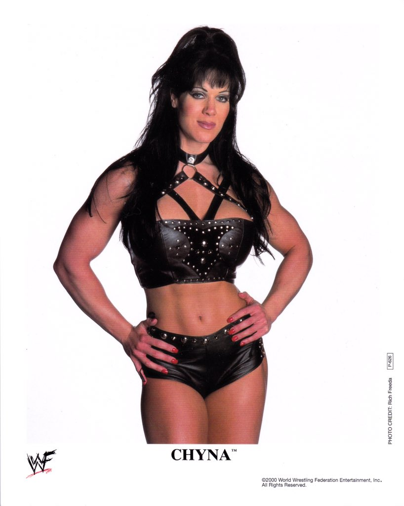 I always admired the great strength of Chyna and how she helped pave the way for women in wrestling.