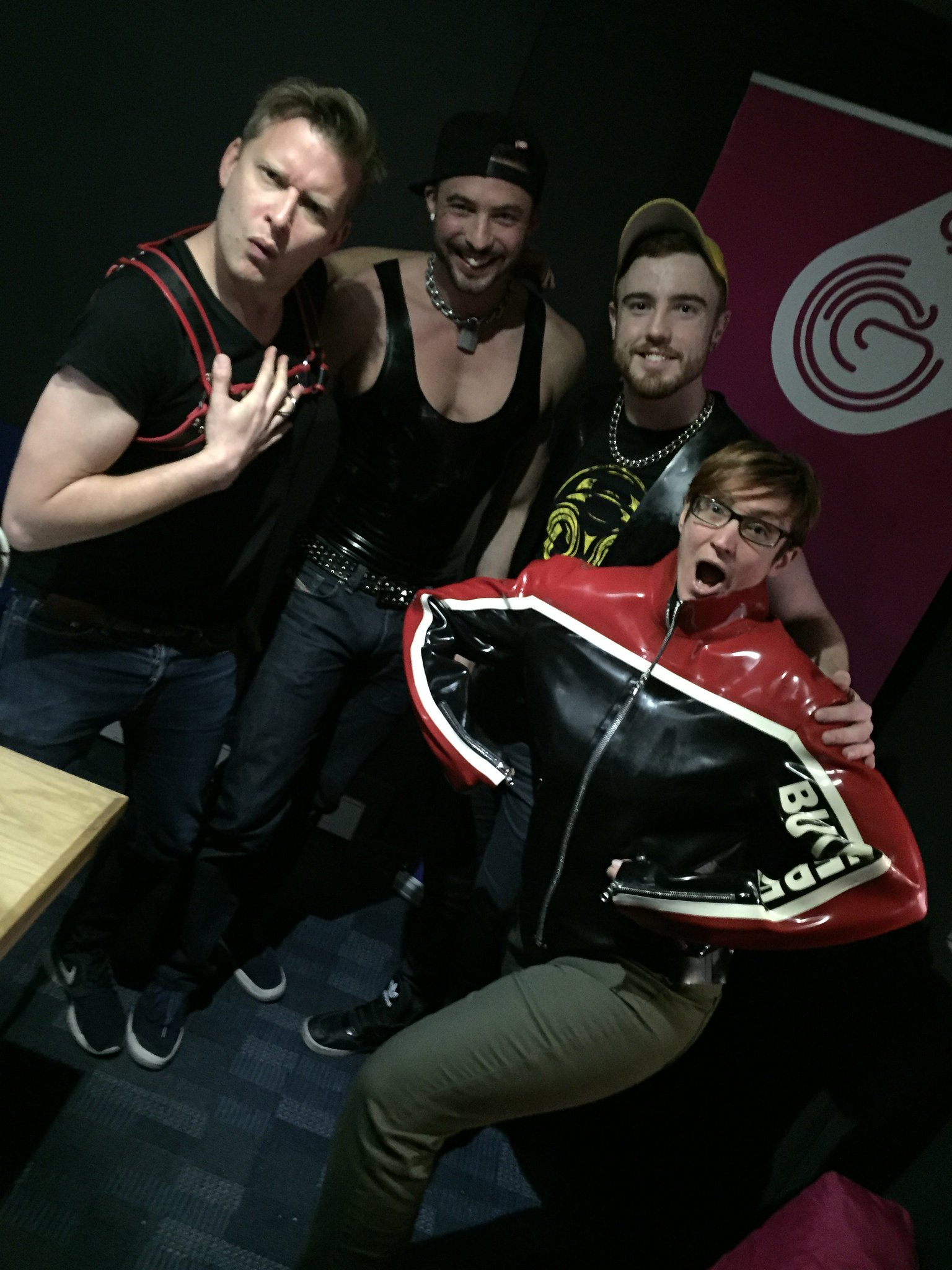 RT @Gaydio: Big thanks to @SamBarclayXXX and @JPDuboisxxx for popping in. More info at https://t.co/LGjLGl8pJN xx https://t.co/XiFfXAoCb3