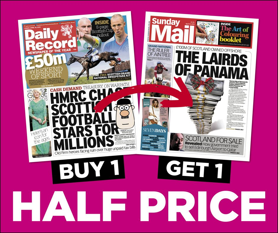 The record sunday coupons