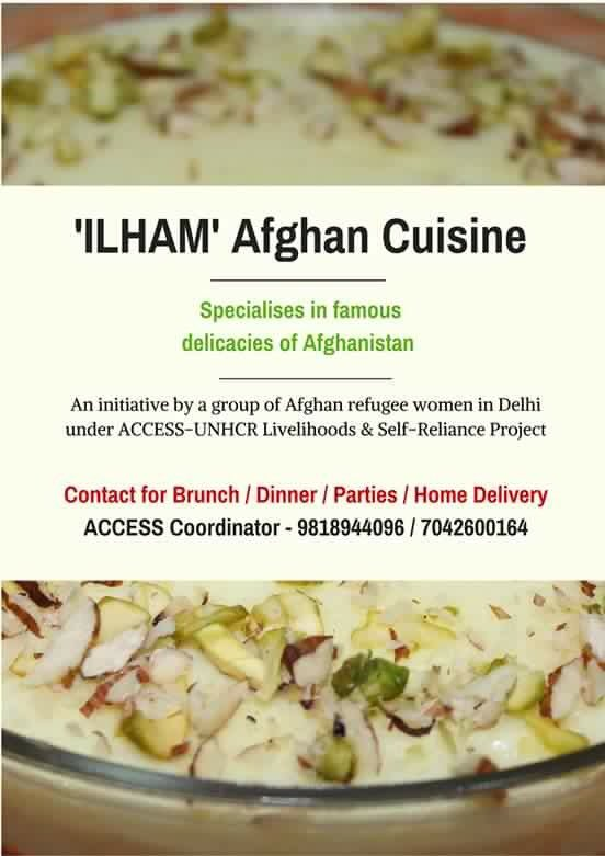 A bunch of Afghan refugees are cooking some amazing food. Do order from them #Delhi https://t.co/Fm8MXdZsv0
