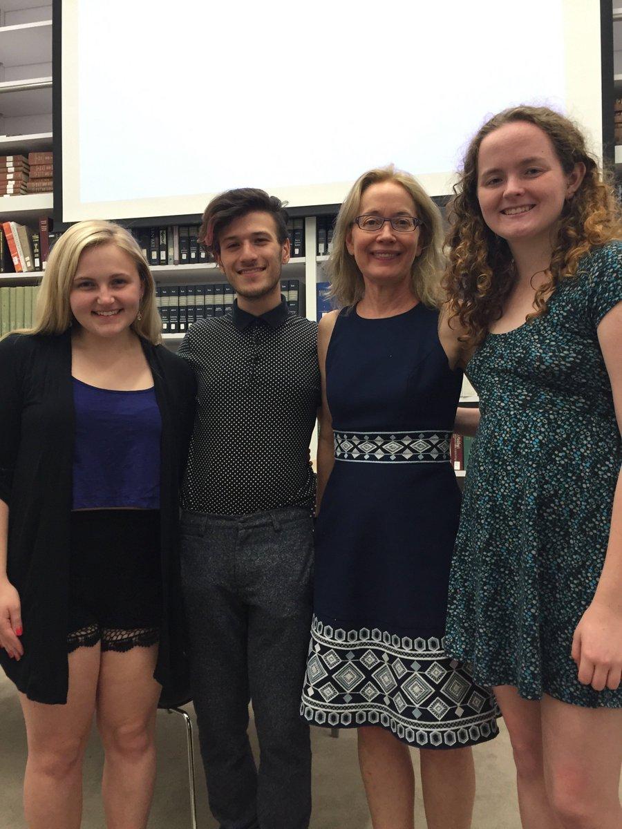 PJHC students Meredith Bouchein, David Cirillo & Alex Bergin & @DStrassmann  @artandfeminism Edit-a-thon @Wikipedia