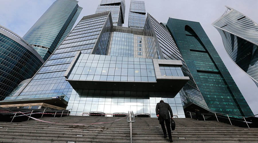 Moving Up: Russian stock market hits record high thanks to rising crude, foreign investment