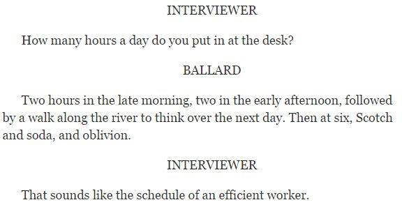 .@parisreview interview of J.G. Ballard never grows old. https://t.co/lnDJlnYDY0 https://t.co/1WXqDOj7ne
