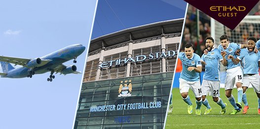 Win a trip for two to watch @MCFC's last home game of the season! Enter now: