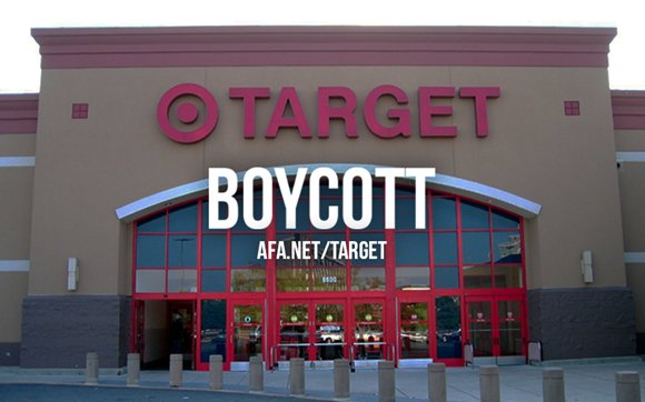 We are announcing boycott of @Target due to their dangerous bathroom policy. https://t.co/GQI0Oe8VAO #BoycottTarget https://t.co/RB11tfeXDW