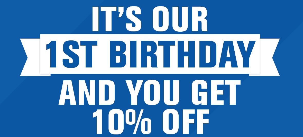 Still time to get 10% off everything in our Grafton St store today until 7pm! #HappyBirthdayToUs https://t.co/fTsYVVpzp6