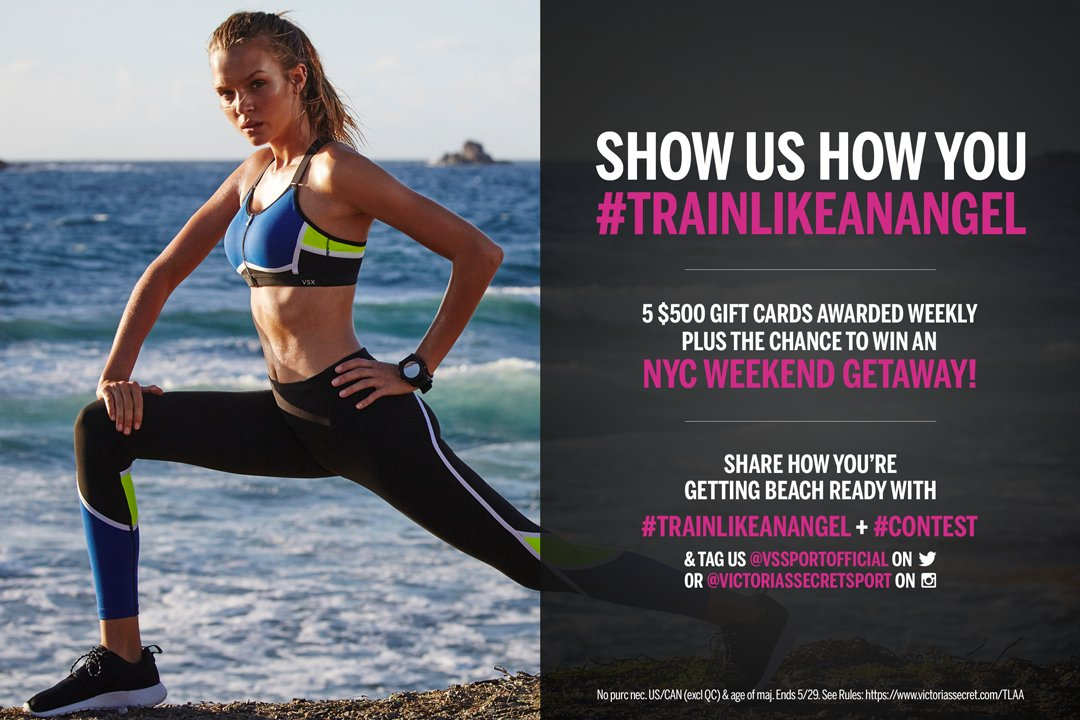 #TrainLikeAnAngel. Win big! Find out how: https://t.co/FpHPSEAriP https://t.co/xkOALWG8Yk