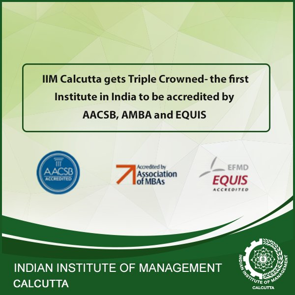 IIMC has been awarded the EFMD Quality Improvement System (EQUIS) Accreditation by EFMD. https://t.co/1jWUdhTnqD