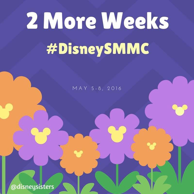 2 More Weeks til @DisneyMoms at @WaltDisneyWorld #DisneySMMC https://t.co/UiNfH43ynh