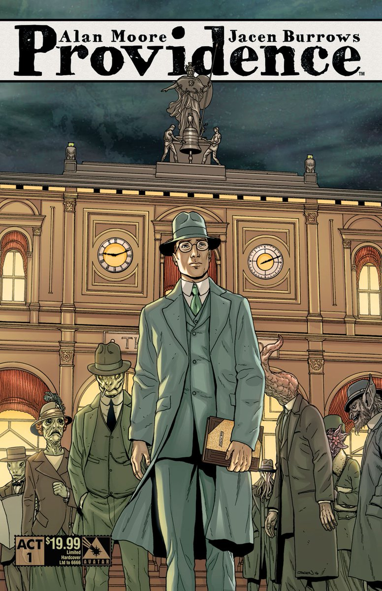 Visit your local #comic shop this week to find #AlanMoore's #Providence Act 1 Limited Ed HC! #horror #lovecraft https://t.co/AaepWEm4np