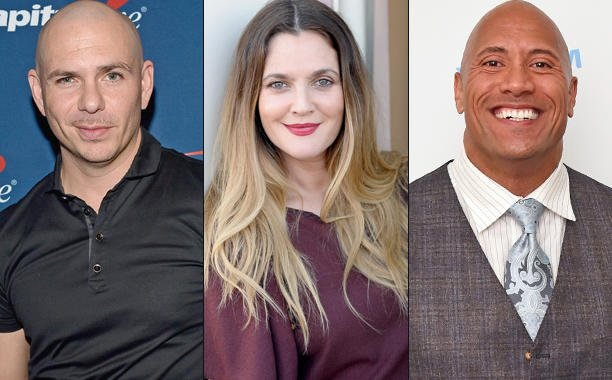 .@Pitbull, @DrewBarrymore, @TheRock and more score development deals at @MTV: