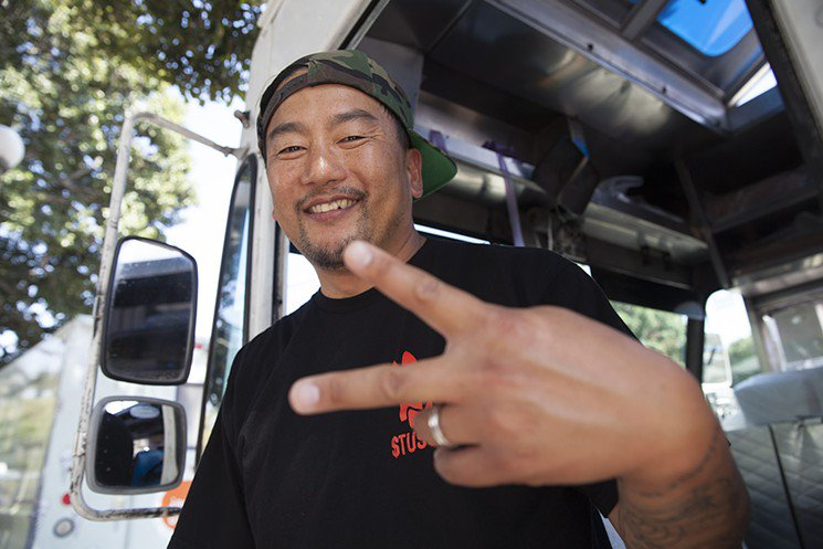 Roy Choi (@RidingShotgunLA) just made @Time's 100 Most Influential People list  https://t.co/jTvumonyrh https://t.co/8YXCiAW5hG