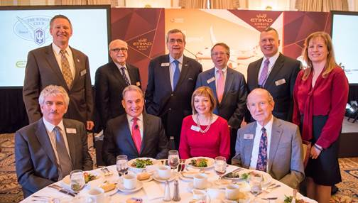 Our PCEO James Hogan, spoke at the WingsClub luncheon today. Read more on LinkedIn: