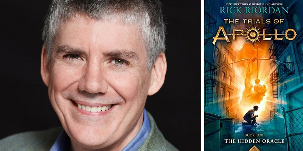 Tue 5/3: @camphalfblood debuts THE TRIALS OF APOLLO Book 1: The Hidden Oracle! Get your tix! https://t.co/VMN8BedlQC https://t.co/3K99mh8Bl2