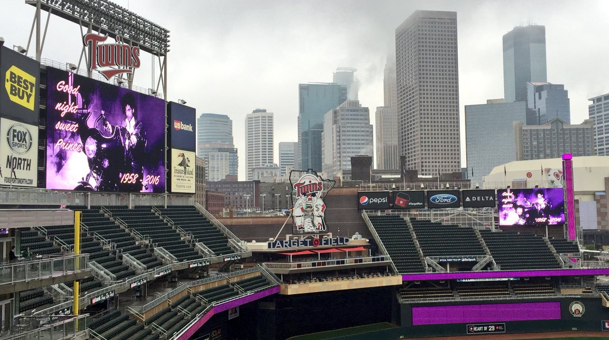Fitting that it's raining in Minneapolis today. https://t.co/s5KFurDhHi